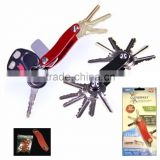 Clever Key As Seen On TV Key Organizer Up to 12 Keys Compact Key Holder