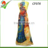 new 2016 fabric textile african print chiffon fabric Culture Print collection chiffon fabric