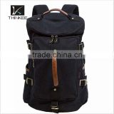 Fashion canvas bag bulk capacity custom logo canvas backpack bag