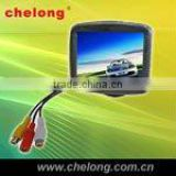 hidden cameras 3.5 inch support two ways video input car rear view mirror