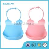 Waterproof Silicone Baby Bid with lovely design