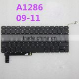 "Original Replacement keyboard A1466 for Macbook Pro 15"" A1286"