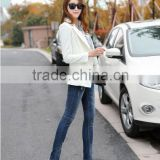 Autumn Women Fashion jeans high Waist Slim Holes Ripped Casual Ladies Long Jeans sexy skinny pencil pants