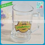 Ottakringer Thick Wall Heavy Beer Drink Glassware Classic Crystal Glass Tumbler Beer Mug