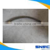 Shacman truck parts, shacman hose,Front brake hose,DZ9100360163 HOSE, Chinese Truck spare parts