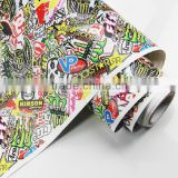 Hot Sales Colored Car Decal Type 1.52*30m/roll Hydrographic Film Sticker Bomb                                                                         Quality Choice