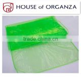 Wedding Decor Supplies Banquet Organza Table Cover Overlay Runners for Wedding Party Table Decoration