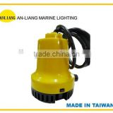 <9811> 12V/24V DC 6A/10A 6600L/HR single stage marine yacht sea Water submersible Pump