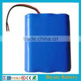 li-ion battery 11.1v 2200mah automotive lithium battery high discharging rate cell packs