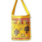 India embroidered shoulder Bag-With tribal Indian Ethnic Patchwork Handbags at Wholesale price