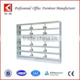 High Quality Low Price French Style Furniture Bookcase , Stainless Steel Bookcase