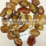 POLISHED Natural RAW amber stone size 100-200 grams, all color