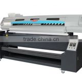 High Speed !1.9m flag banner printer with two EPSON DX7 Printer heads