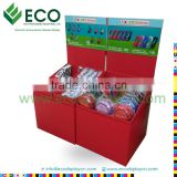 Supermarket Attractive Cardboard Display Bin for Bluetooth Headset Caller Display, Cardboard Dump Bins for Retail