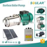 High grade quality solar dc surface water pump ( 5 Years Warranty )                                                                         Quality Choice