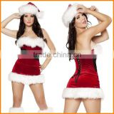 New sey cute girls waist fur clothing Christmas Christmas Party Costume