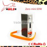 wholesale alibaba Most popular products zero mini 60w, electronic cigarette box mini e-cig mod zero mini