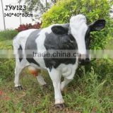 Wholesale garden decoration resin life size cow statue