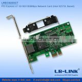 PCI-Express x1 10/100/1000Mbps Usb To Lan rj45 Adapter Network Card (Intel 82573L Based)