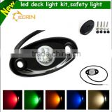 Safety warning boat decoration accessories waterproof multi colors red blue whitewarning led lights