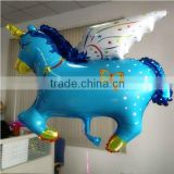 Now Rocking Pony Balloon Decoration,Birthday Party Favor Supply