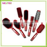 hot sell 7pcs plastic hairbrush set vanity plastic hair brush set                                                                         Quality Choice