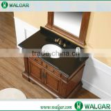 Chinese black granite countertop ,one piece bathroom sink and countertop                                                                                                         Supplier's Choice