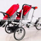 twins bike stroller innovative tricycle stroller fancy baby stroller