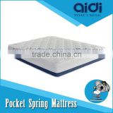 Perfect Sleep Hamburger Top Pocket Coil Spring High Quality Bed Sponge Mattress AI-1313