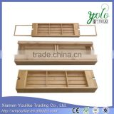 New innovative products 2015 deluxe bamboo bath caddy alibaba dot com