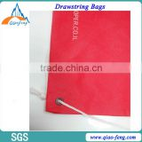 Eco-Friendly Small Linen Pouch / Linen Drawstring Bag / folding Linen Bag