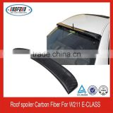 CARBON FIBER REAR ROOF SPOILER WING FOR MERCEDES-BENZ W211 E-CLASS SEDAN 4DR E500 E350 2033-2009