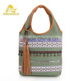 Tribal Chic Ethnic Embroidered shoulder bag Kuchi Gypsy Boho Hippie banjara thai bag