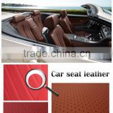 Factory directly selling pvc artificial leather for car seat cover, car seat covers colourful