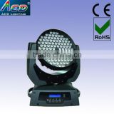 108*3w rgbw led moving head wash spot stage light