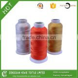 black high tenacity polyester chinlon bonded thread 210D/2PLY