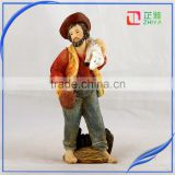 Resin Craft Home Decoration Jesus Christ Sheepherder Religious Statues