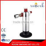 Culinary Torch with Flame Adjuster Wheel Pretty Design Micro Butane Kitchen Blow Torch EK-912