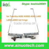 original new laptop LCD Hinge for Toshiba A350 A355D A355 L450 L455 L455D noetbook lcd hinge screen Bracket