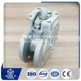 WCB double chemical resistant ball valve with handle
