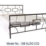 Chinese Style Metal Bed In Size Single And Double Furniture, metal bed, malaysia bedroom furniture, antique metal beds furniture