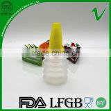 LDPE empty dropper squeeze disposable plastic glue bottle by shenzhen manufacture