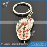 Best selling custom shoe keychains ballet shoe keychain for sale