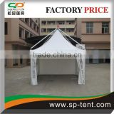 5mx5m newly designed luxury garden line gazebo