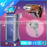 Salon Back / Whisker Factory Sell Directly 808nm Laser Diode Hair Removal Machine/milesman Hair Removal Diode Laser Multifunctional Face Lift