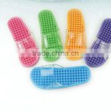 colorful massage skid-proof slippers P30490