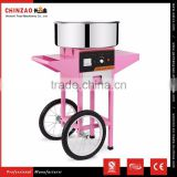 Full Automatic Used Electric Cotton Candy Floss Machine Cart
