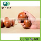 handle wooden massage ball roller