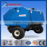 Hot sale direct factory mini round hay baler/cheap hay baler/hydraulic hay baler in machinery