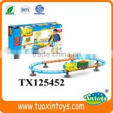 battery operated toy train steam locomotives table set